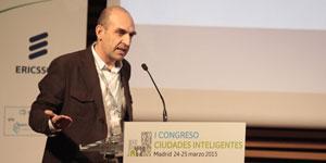 Jesús Díez, Patrimonio Natural CyL – I Congreso Ciudades Inteligentes