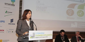 Patricia Molina, Fundación Tecnalia – I Congreso Ciudades Inteligentes
