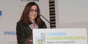 Tania Marcos, AENOR – I Congreso Ciudades Inteligentes