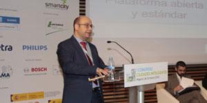 Sergio García, Telefónica I+D – I Congreso Ciudades Inteligentes