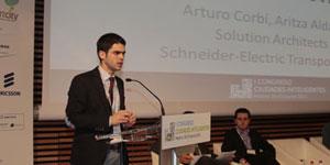 Aritza Aldama, Schneider Electric – I Congreso Ciudades Inteligentes