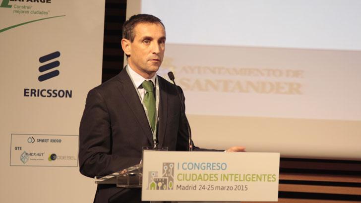 José Antonio Teixeira en el I Congreso Ciudades Inteligentes