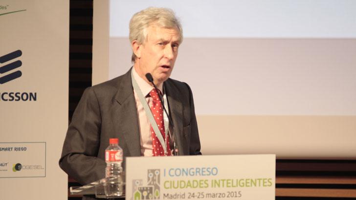 José Miguel Fernández, de la UPM, en el I Congreso Ciudades Inteligentes