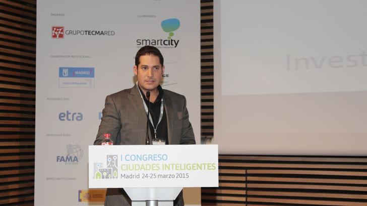Pablo Branchi, UPN, en el I Congreso Ciudades Inteligentes