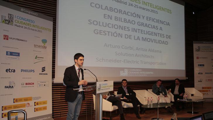 Aritza Aldama, Arquitecto de Soluciones de Schneider Electric