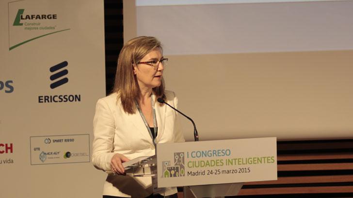 Inés Leal en el I Congreso Ciudades Inteligentes