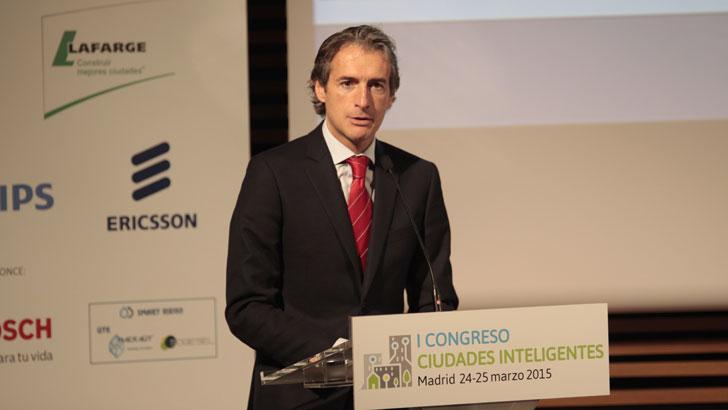 Íñigo de la Serna, Presidente de la Red Española de Ciudades Inteligentes en el I Congreso Ciudades Inteligentes