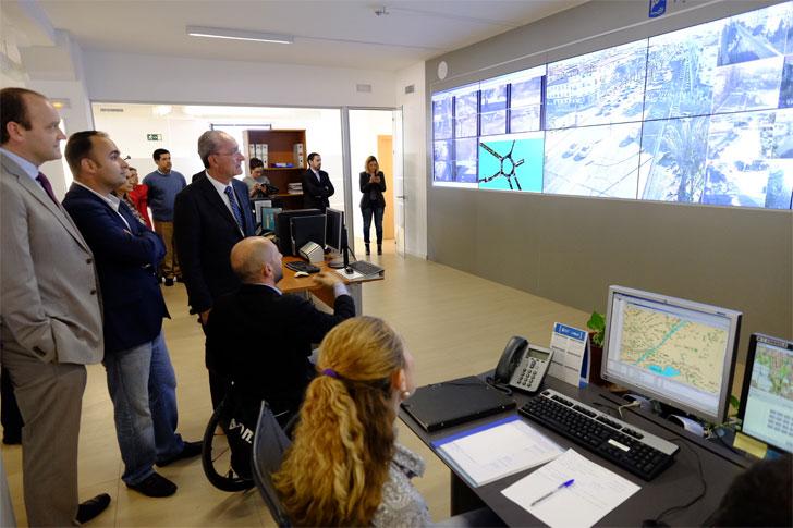Presentación del Centro de Control Unificado de la Ciudad de Málaga
