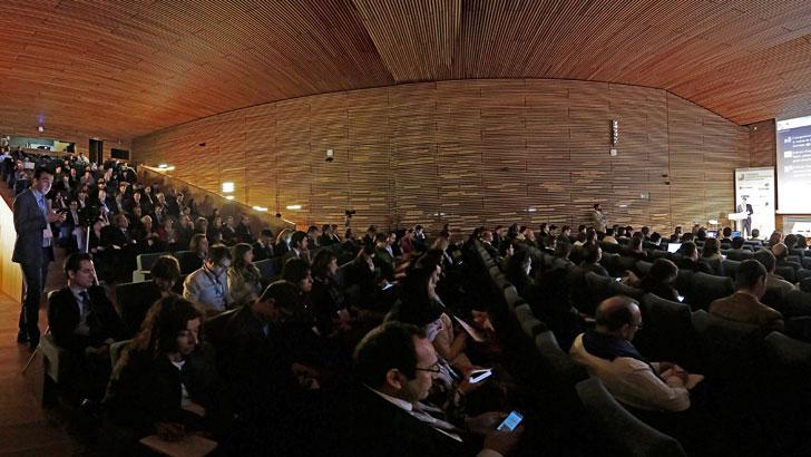 Vista panorámica de la sala del I Congreso Ciudades Inteligentes