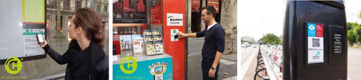 Barcelona contactless adhesivos inteligentes para crear for Oficina bicing