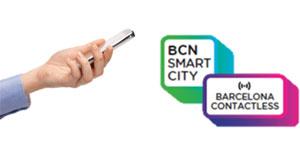 'Barcelona Contactless', adhesivos inteligentes para crear conexiones entre el mundo real y digital