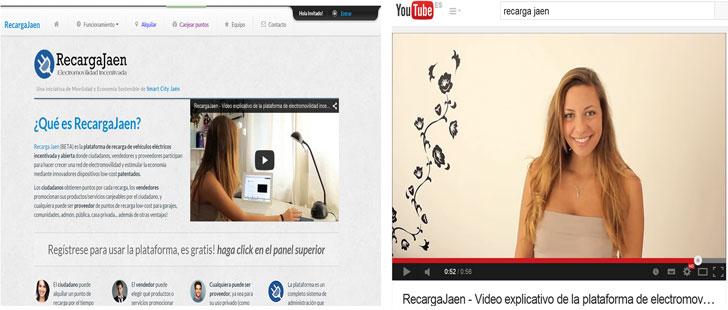 Visión general del portal y video YouTube de manejo de la plataforma [W4].