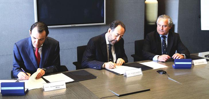 Firma entre Telefónica, Ericsson España y Fundación Adecco para el programa Talentum