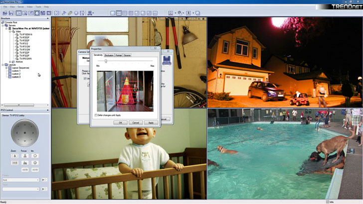 Software de análisis de vídeo de TRENDnet
