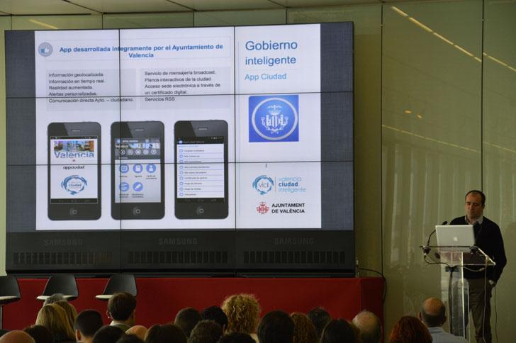 Presentación de la App Valencia