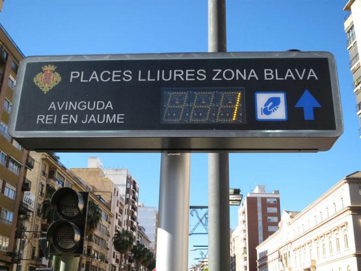 Solución de estacionamiento inteligente de Urbiótica en Castellón