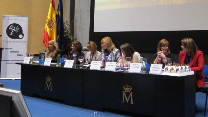 Mesa mujeres Innovadoras en CNIS 2015