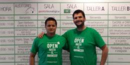 Manu Sánchez y Philippe Lardy, fundadores de OpenExpo