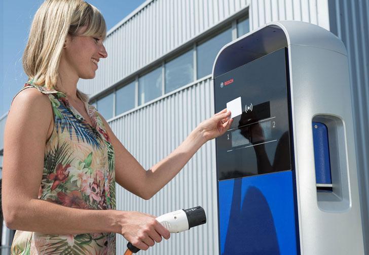 Infraestructura de recarga eléctrica de Bosch, Ingeteam y Urbener