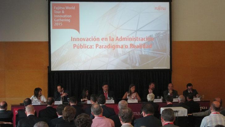 Sesión sobre Innovación en las Administraciones Públicas