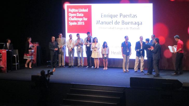 Entrega de premios Linked Open Data 2015