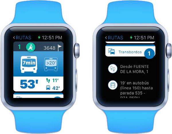 App 'EMT Madrid Watch'