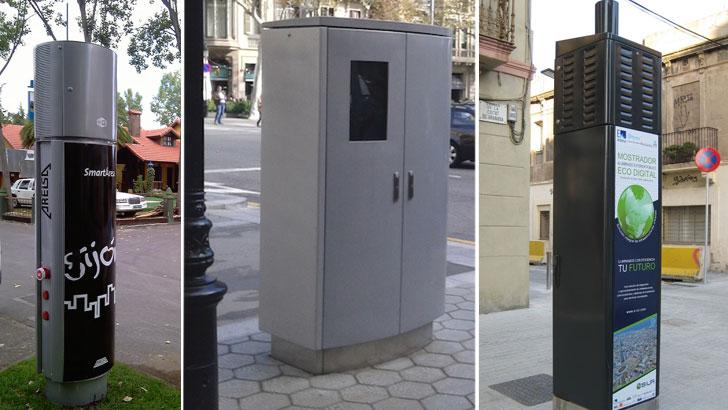 Smart Towers de Aresla en diferentes ciudades