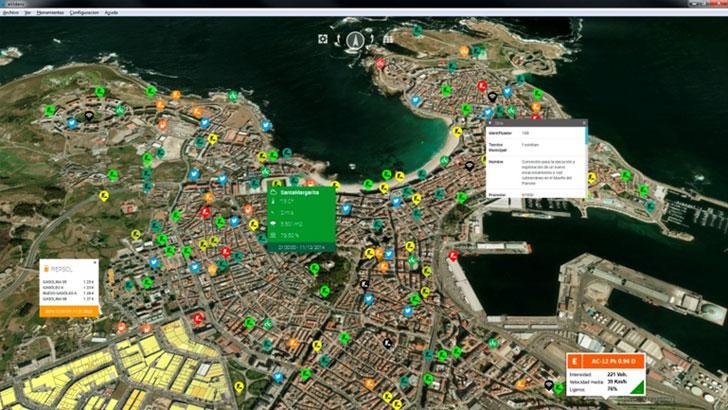 Ejemplo de Escena definida en eVidens. ILUX Visual Technologies 2014.