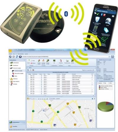 Integración aplicaciones móviles y software de gestión.
