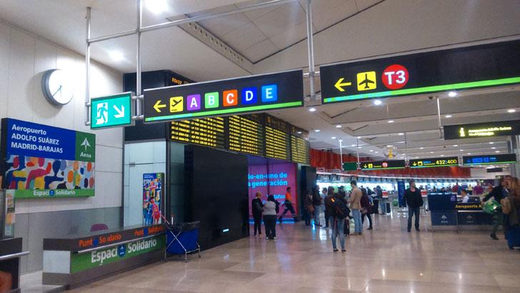 Aeropuerto Barajas Adolfo Suárez