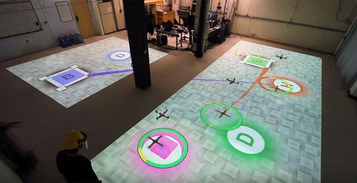 Simulación con Drones en el MIT