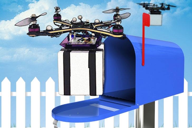Estudio para servicio de paquetería con drones