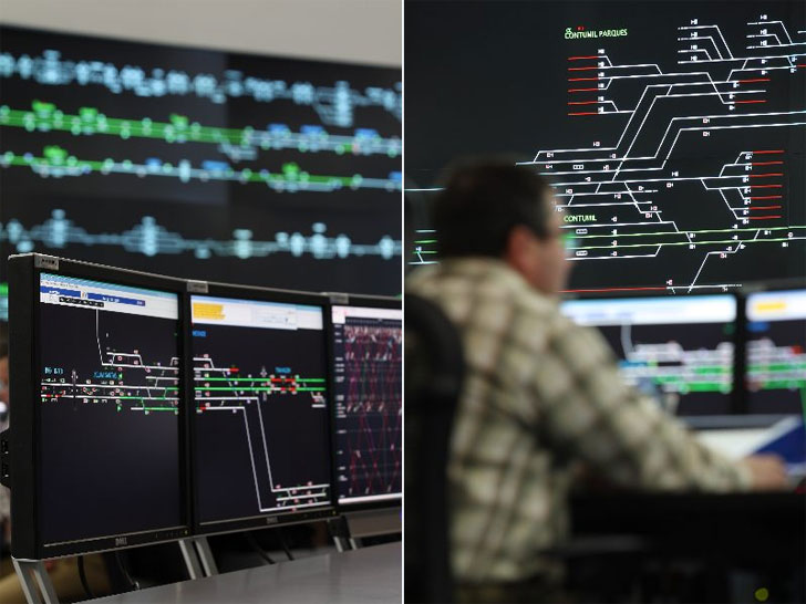 Centro de Control de Tráfico de Siemens en Barcelona