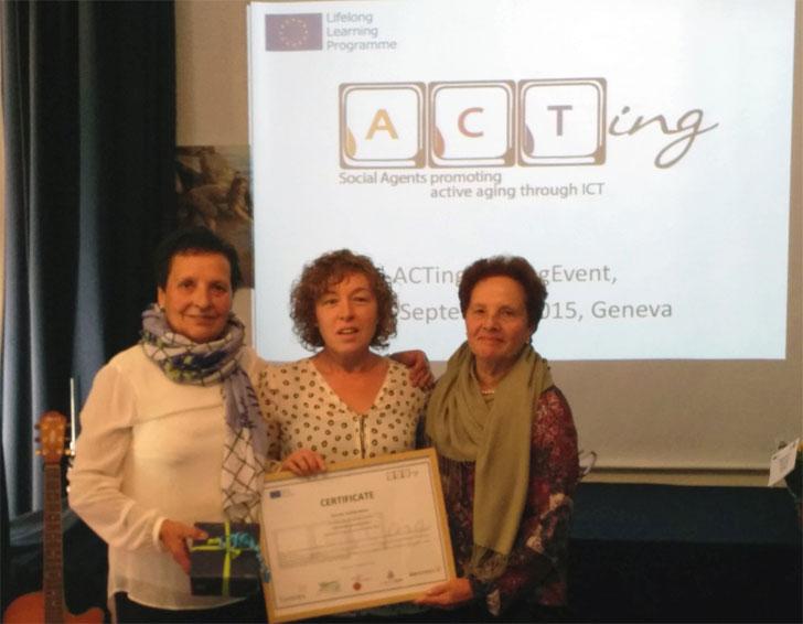 Falame de San Sarduniño, ganador de ACTing