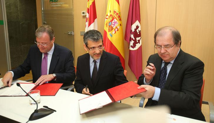 Acuerdo entre Castilla y León y Microsoft