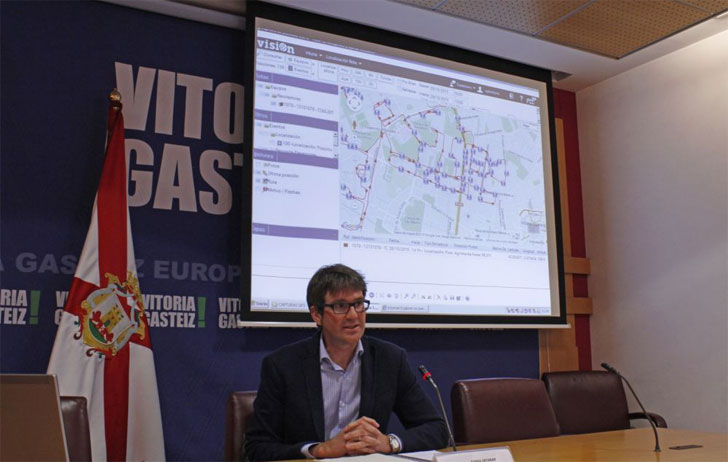 Gorka Urtaran, Alcalde Vitoria-Gasteiz