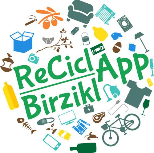 ReciclApp, del Gobierno de Navarra