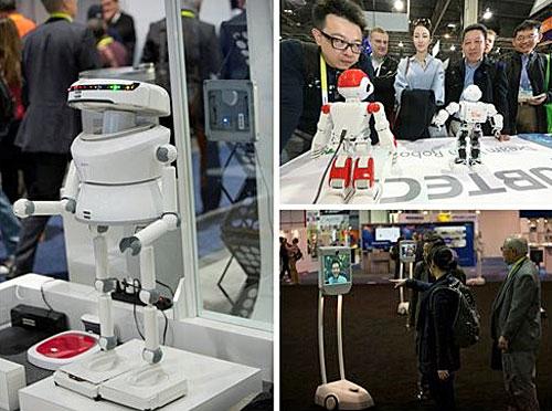 Robots CES