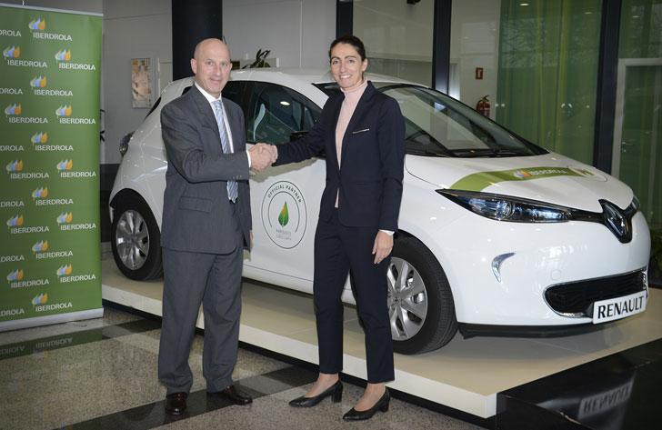 Renault e Iberdrola, acuerdo por la movilidad eléctrica
