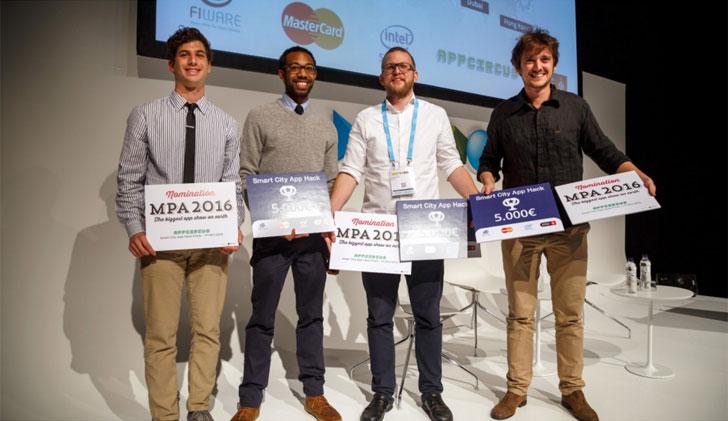 Ganadores de la Smart City App Hack