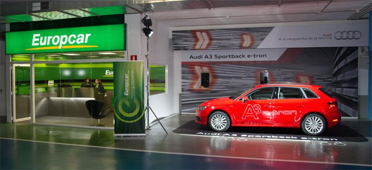Audi A3 Sportback e-tron y Europcar
