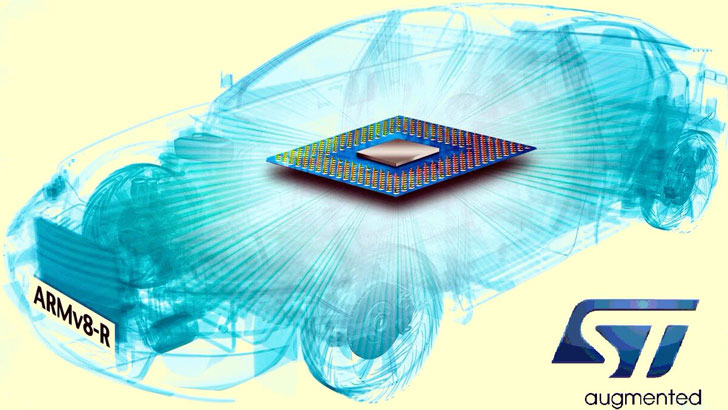 Procesador ARMv8-R usado por STMicroelectronic