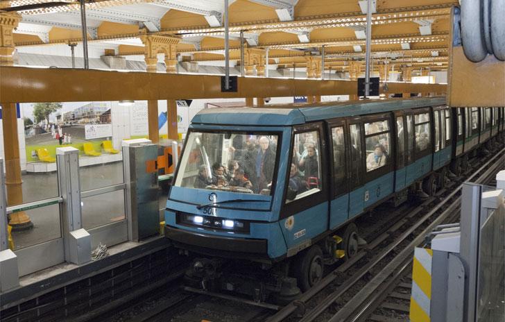 Siemens, metro de París sin conductor