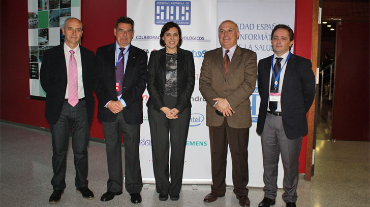 La consejera de Salud de Murcia, Encarna Guillén, en el Foro de Seguridad y Protección de Datos de Salud
