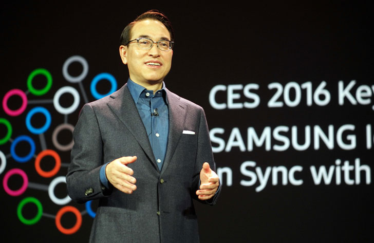 Hong, de Samsung en CES