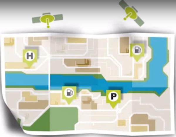 TomTom mapa interactivo
