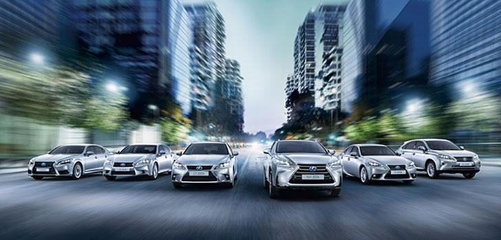 Modelos de vehículos híbridos