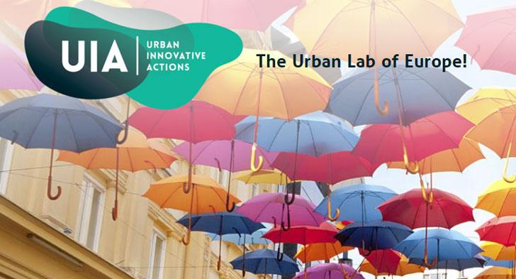 Logo de la iniciativa Acciones Innovadoras Urbanas