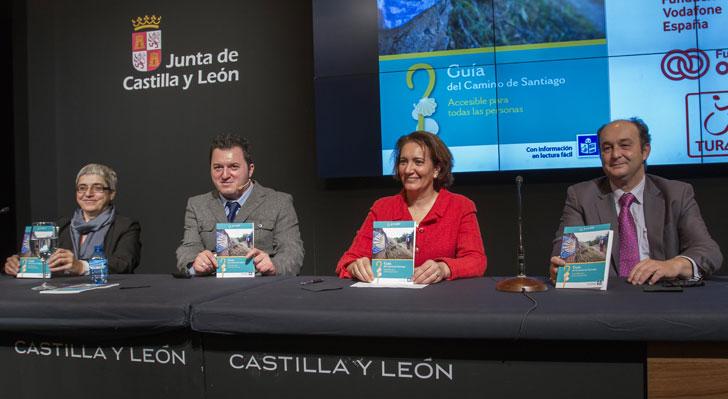 Presentación de la Guía del Camino de Santiago Accesible