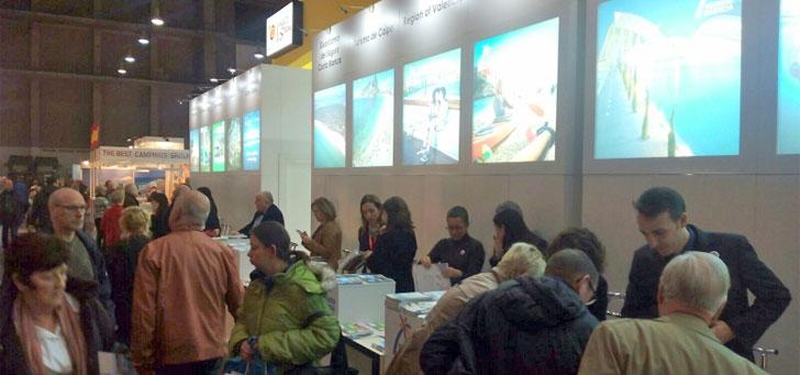 Exposición sobre opciones turísticas de la Comunidad Valenciana en Bruselas